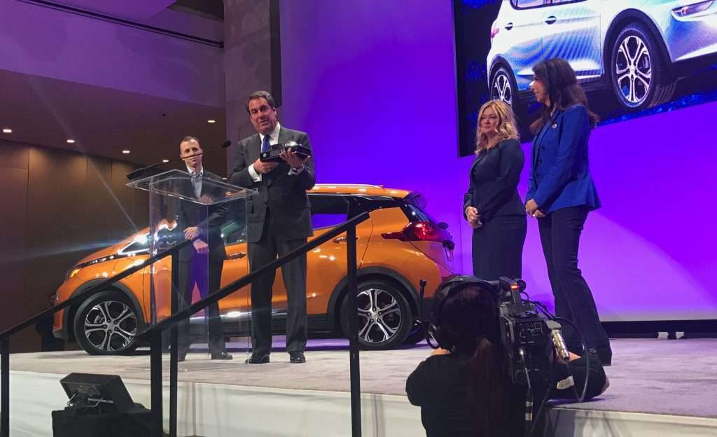2017 North American Car Truck and Utility of the Year award presentation