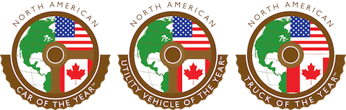 North American Car and Truck of the Year Logos