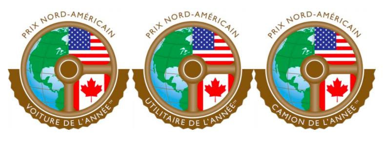 Le Prix Nord-Américain de la Voiture, de l'Utilitaire et du Camion de l'année