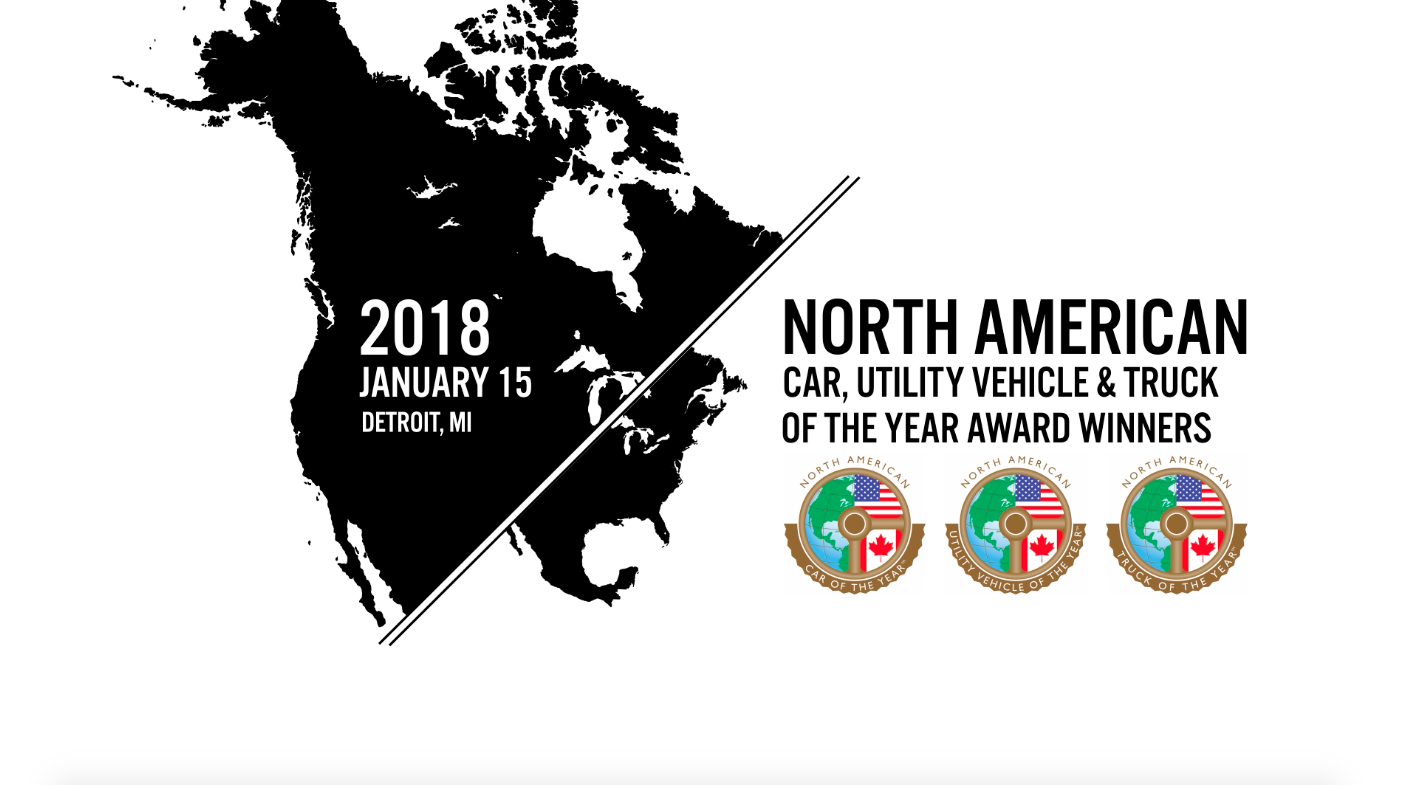 2018 North American Car, Utility Vehicle & Truck of the Year Award Winners