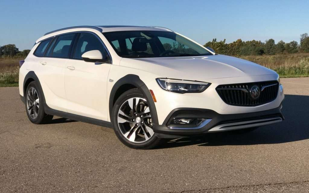 Buick Regal Tour X - semi-finalist in the NACTOY Car of the Year category
