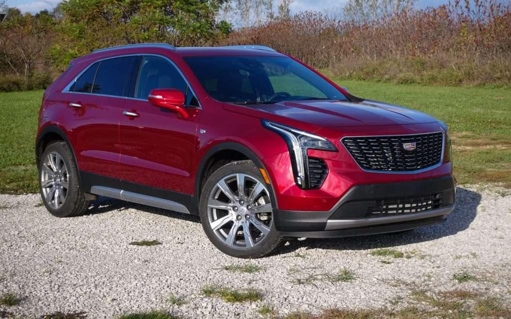 Cadillac XT4 NACTOY Utility of the Year Semifinalist