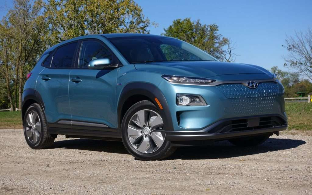 Hyundai Kona - semi-finalist in the NACTOY Utility of the Year category