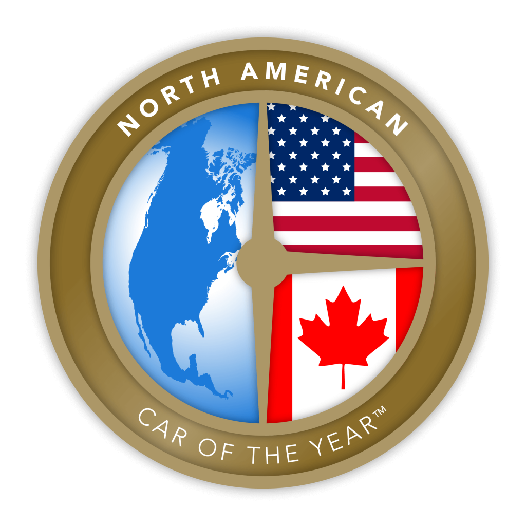 North American Car of the Year award seal