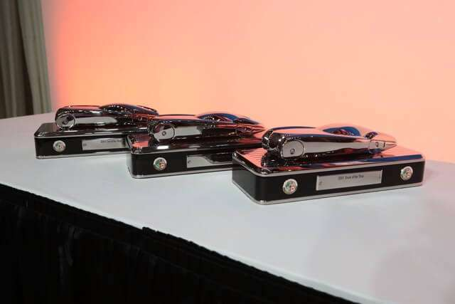 The 2019 NACTOY trophies