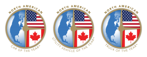 North American Car Utility and Truck of the Year logos