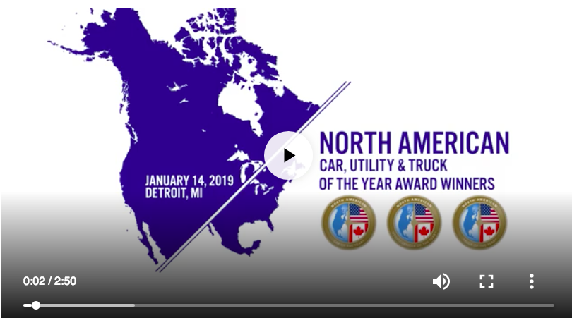 2019 NACTOY Award Presentation Video