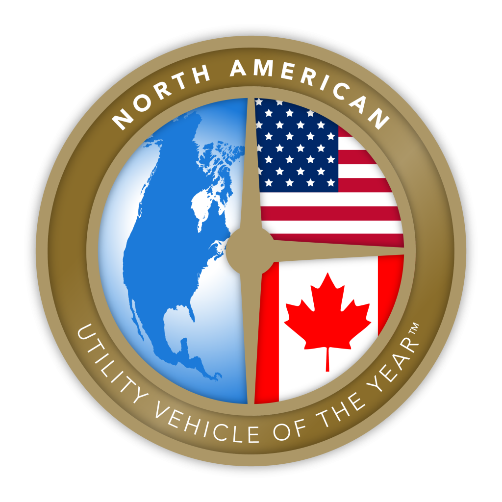 North American Utility Vehicle of the Year logo Seal